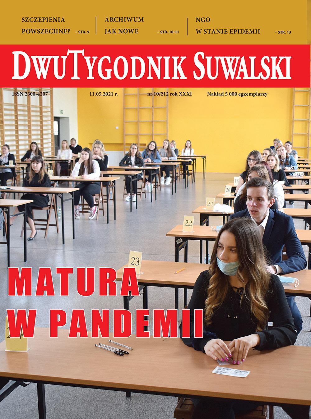 Dwutygodnik Suwalski nr 10 z 11.05.2021 r.